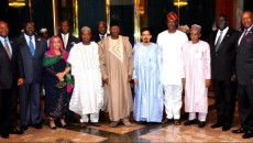 African Ambassadors courtesy visit on the Presdient  Jonathan Goodluck