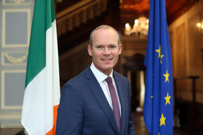 Tánaiste and Minister for Foreign Affairs, Simon Coveney.
